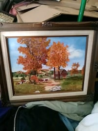 Original Painting by unknown artist Garland, 75042