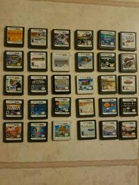 Lots of Nintendo ds and 3ds games 3149 km