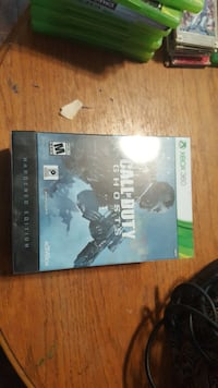 Call of Duty Ghosts Xbox 360 game case Abilene, 79602