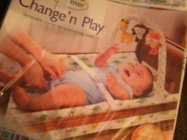 Changing table lay and play pad