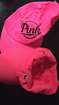 two pink snapbacks Freehold township, 07728