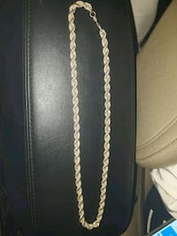 925 Silver rope chain Edmonton, T5G 1H2
