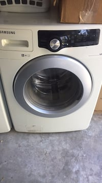 white Samsung front-load clothes washer Stevenson Ranch, 91381
