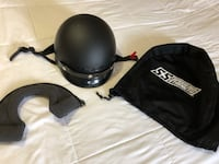Excellent Condition- Size Large Half Helmet with Neck Protector & Bag $40 Trenton, K8V 2X4
