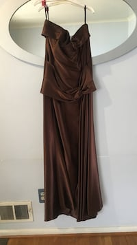 women's brown spaghetti strap dress Silver Spring, 20904