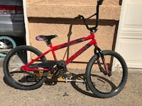 red and black BMX bike Fresno, 93722