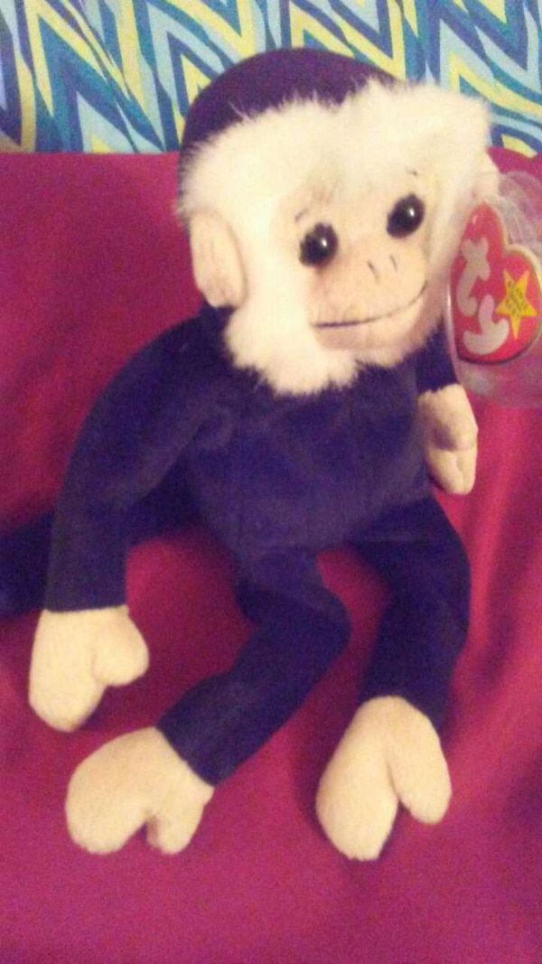 518f73cf7fb Used Mooch the Monkey      TY Beanie Baby NWMT for sale in Portage ...