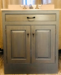 31in Marble Sink with bathroom vanity cabinet Baltimore, 21216