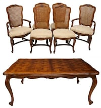 Century Furniture Louis XV Style Dining Suite/Set Washington