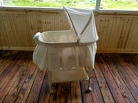 Bassinet with music, vibration and night light