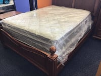 Queen Mattress Set 166 mi