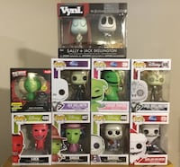 Nightmare before Christmas Funko Items  Cambridge, N1P 1A5