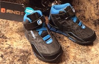 Andi toddler's black, & blue high cut shoes ( brand new with tag ) Calgary, T2J 1V4
