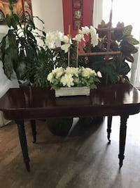 A visual stunning, hallway console table.