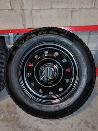 185/70 R14 WINTER TIRES WITH RIMS Toronto, M9L 1J8