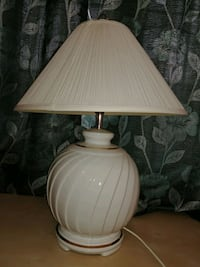 white and brown table lamp Richmond Hill, L4C 0P8