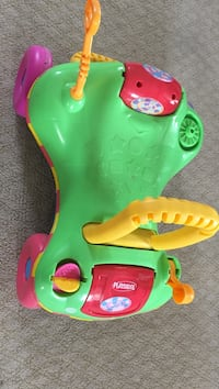 Green, yellow, and red playskool car ride-on toy Westminster, 21158