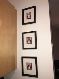 3 black photo frames  Chicago, 60646