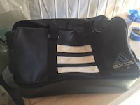 Black and white adidas duffel bag Wilmington, 28403