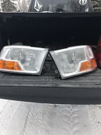 Dodge Ram 2010 headlights and taillights