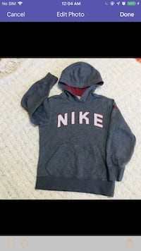 Youth size small hoodie excellent shape