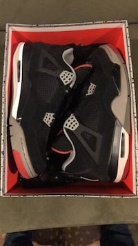 pair of black Air Jordan 4's Silver Spring, 20901