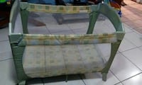 green and beige travel cot Tampa, 33604