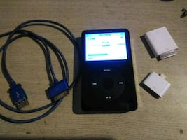 Apple iPod Classic 80gigs.