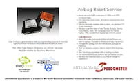 Airbag Reset Service Laval