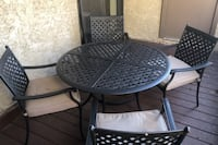 Patio Set, Table & 4 Chairs
