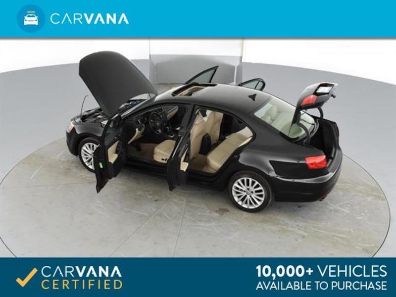 2014 VW Volkswagen Jetta sedan 2.0L TDI Sedan 4D Black <br /> 13