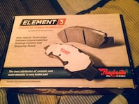 Element 3 Automotive Brake Pads (black and gray) Brampton, L6S 3X8