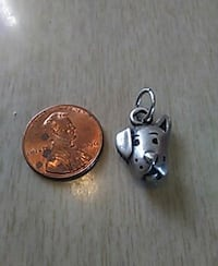 Sterling Silver doggy pendant