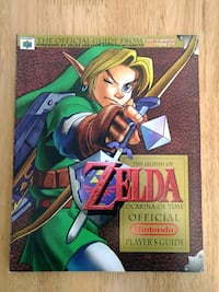 Zelda Ocarina of Time Player's Guide Beaverton, 97008
