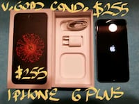 $255FIRM IPHONE 6 PLUS16gb+box v.good condition+b Pointe-Claire, H9R 3A3
