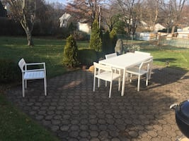 Design Within Reach outdoor dining set