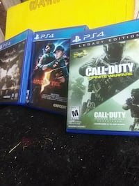 PS4 Games 3 for 20$ or 8$ each  Clovis, 88101