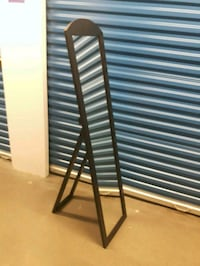 Wooden, Black, Free-Standing Mirror Langley, V3A 0C9