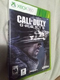 Call of Duty Ghosts Xbox 360 game case Abbotsford, V2T 5E2