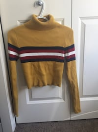 Cropped turtle neck sweater  Calgary