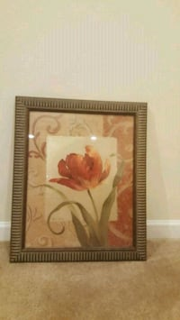 painting of red rose flowers Bryans Road, 20616