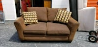 Brown Oversized Fabric Loveseat  Jacksonville, 32217