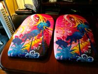 Pair of matching boogie boards