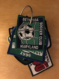 23 Soccer Travel Team Patches - MD, PA, VA, NJ - '88, '95, '96, etc Baltimore, 21236