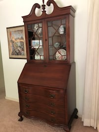 Furniture antique secretary desk Hillsborough, 94010