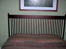 IKEA bed frame and mattress/box spring combo