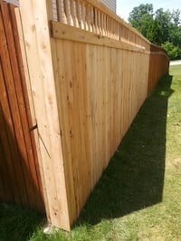 Fence decks home remodel Indianapolis