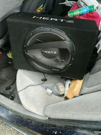 black and gray Pioneer subwoofer speaker Kamloops, V2B 4L7