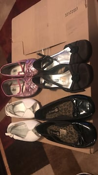 girl's four pairs of footwear Waterford, 48327