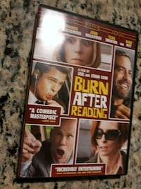 Burn After Reading, DVD Moviie! Chicago